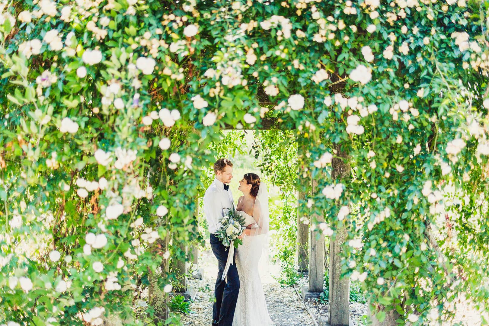 Melissa + David U2013 Claremont Hotel U2013 UC Botanical Garden U2013 Brazilian Room U2013  Berkeley, CA U2013 Studio Kibo